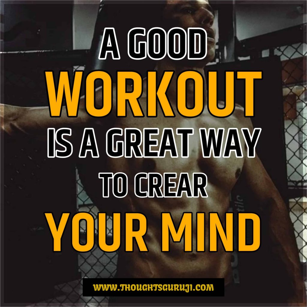 Gym Fitness & Workout Motivation Quotes and Status With Images